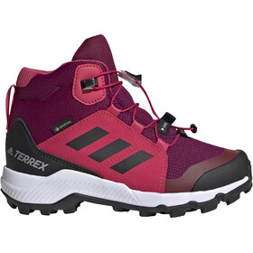 adidas TERREX Mid GTX Shoes Kids power berry/core white/power pink